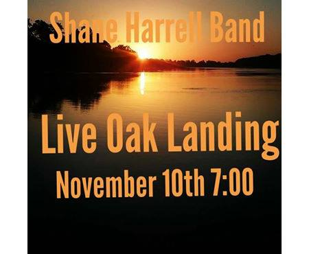 Shane Harrell Band, Live @ Live Oak