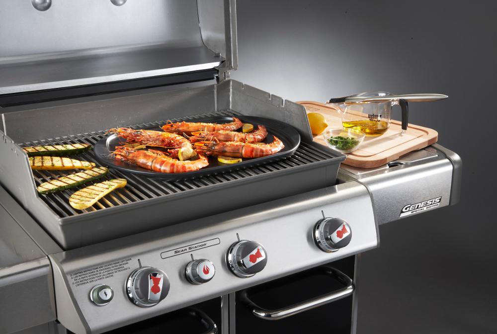 Cottura Barbecue Con Coperchio O Senza