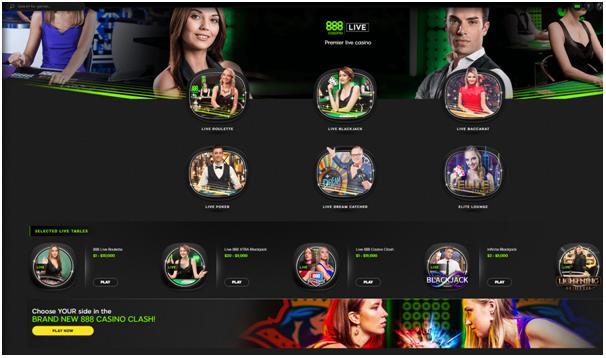 888 live casino Canada
