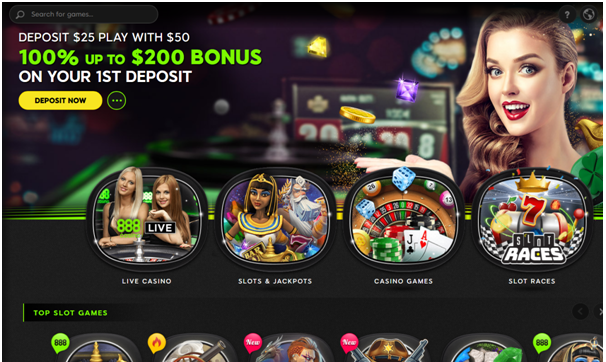 888 casino bonus offer