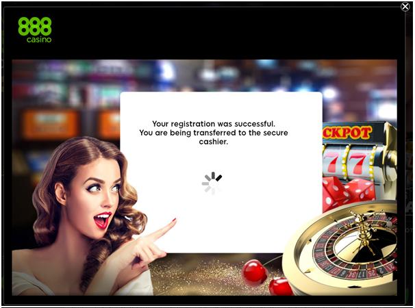 888 casino - register