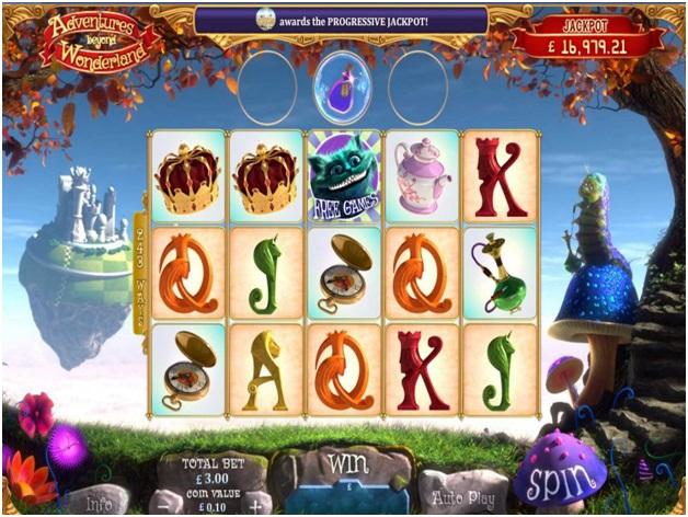 Adventures Beyond Wonderland- Game Slot
