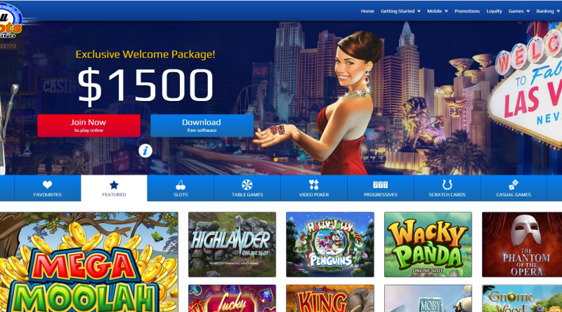 All slots casino $1500 bonus