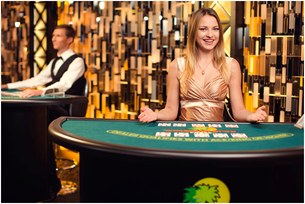 Caribbean stud poker live casino- how to play