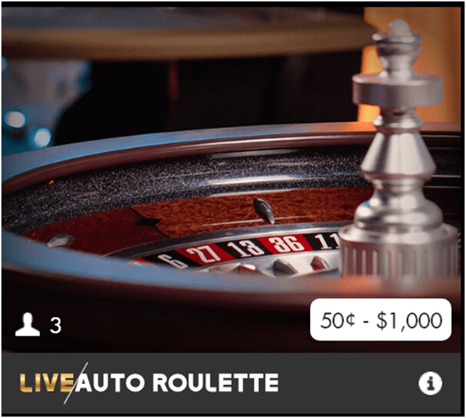 Live Auto Roulette- How to  play in Canada