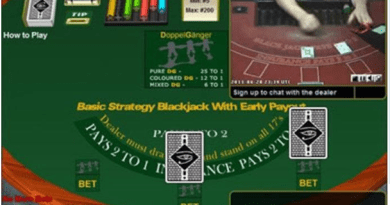 Live Blackjack with early Payouts game play