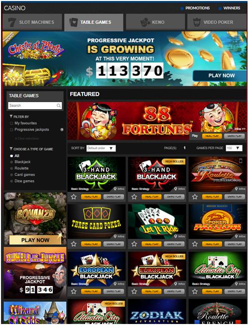 Lotto Quebec Live casino in Canada