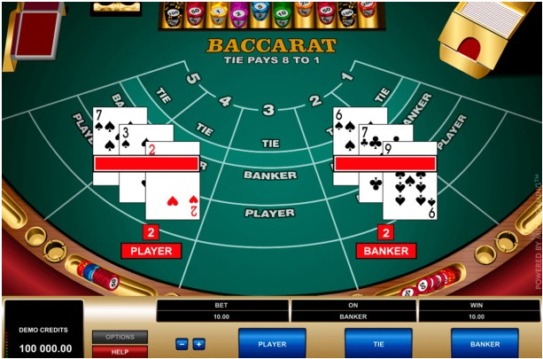 Platinum Play mobile casino Canada- Table Games- Baccarat- Standard Game