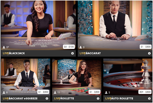 Play Now Live Casino for Canadians