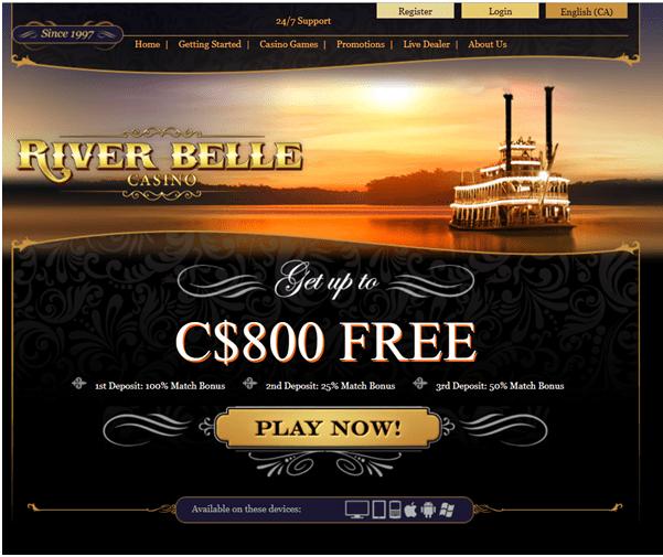RIver Belle Casino Canada