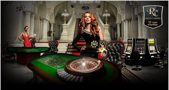 Rich Casino deposits