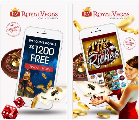Royal Vegas slot app