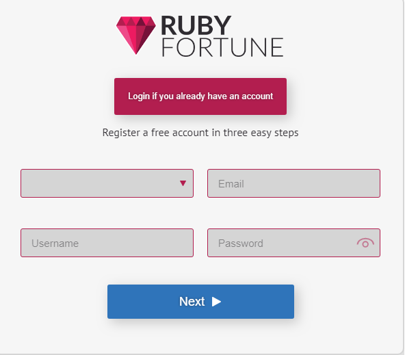 Ruby Fortune Casino games