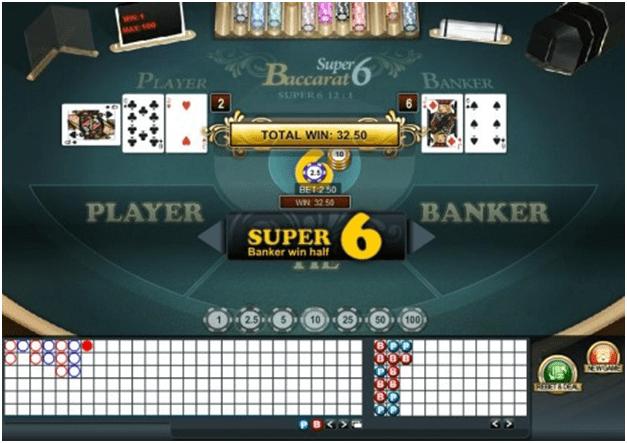 Super 6 bets