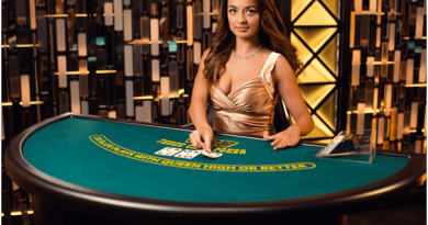 Three card poker- Live casino game