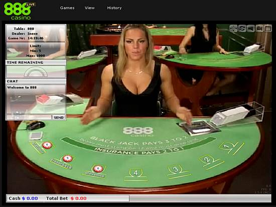 Live Dealer Blackjack at 888 Live