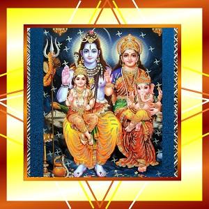 Shiva Parivar in Shravan month small