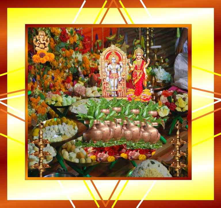 Akshaya Tritiya Kuber Lakshmi Ganesh
