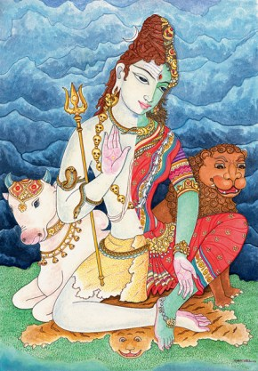 Ardhanareshvar form of Shiva and Shakti Swayamvara Parvathi Mantra