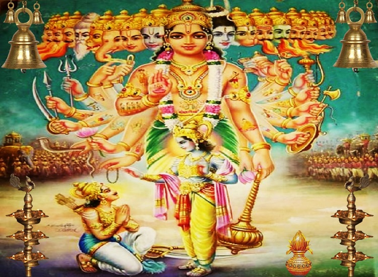 Lord Krishna and Arjuna blog pic