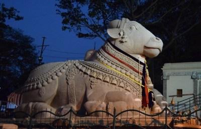 Nandi the devotee of Lord Shiva