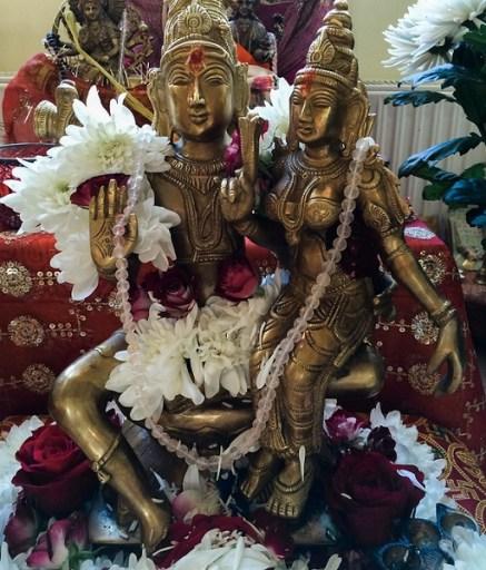 Shiva and Shakti Murti