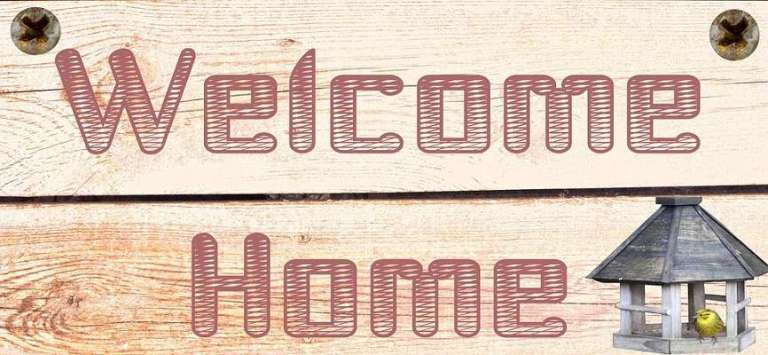 Welcome Home Sign for Grah Pravesh