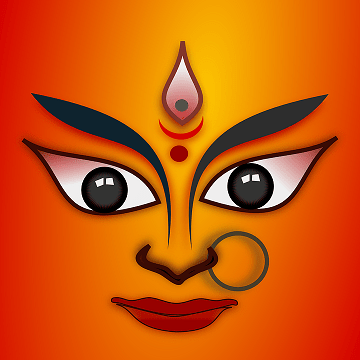 Maa Durga symbol
