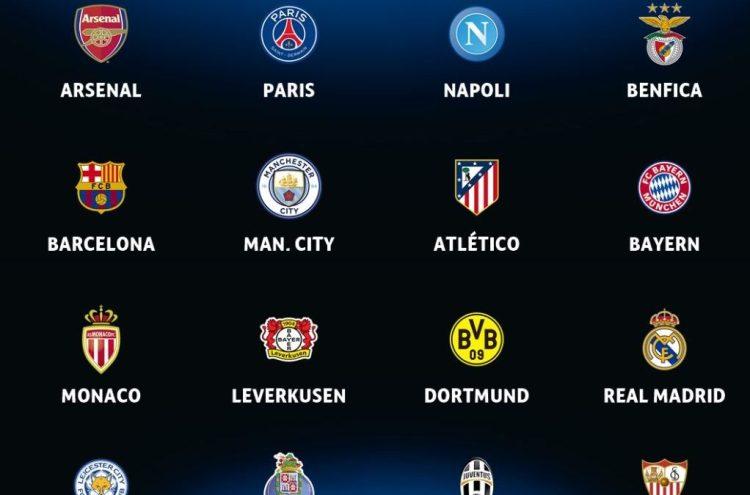 UEFA Champions League round of 16 draw | LiveonScore.com