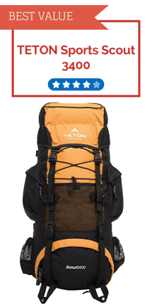 TETON Sports Scout 2400 Internal Pack