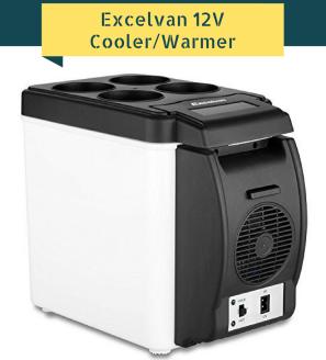 Excelvan BT16 6L 12V Portable Car Thermoelectric Cooler-Warmer