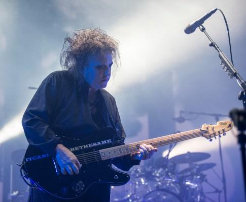 The Cure – Lyon, Halle Tony Garnier – 17 novembre 2016
