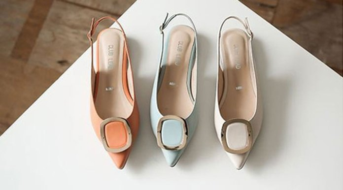Sling-back fashion women's summer shoes