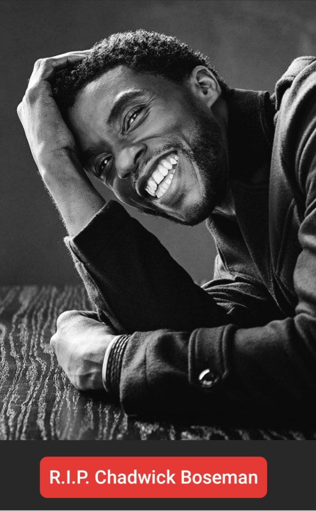 RIP Black Panther actor Chadwick Boseman has died of colon cancer at 43