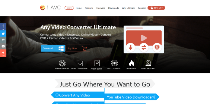 Any Video Converter YouTube to MP3 converter