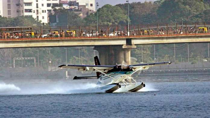 Seaplane Ahmedabad to Statue of Unity Ticket Price