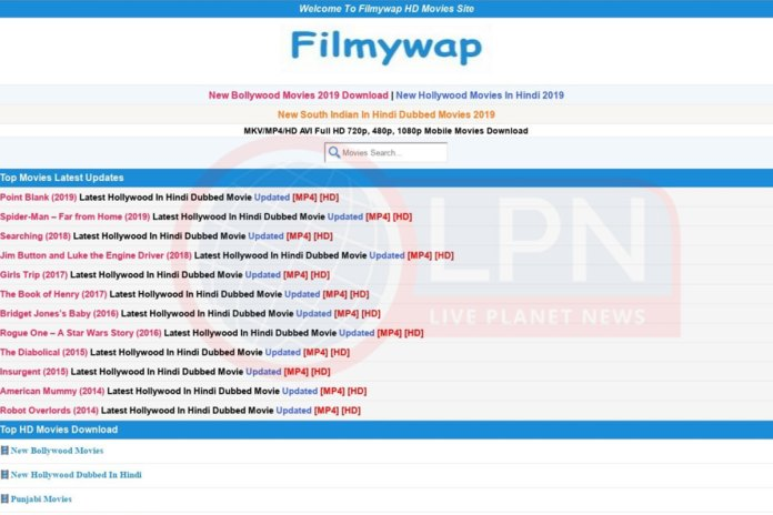 Filmywap 2021: Hollywood & Bollywood HD Movies Download Torrent Website
