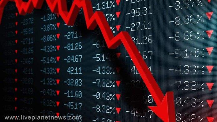 Sensex dropped
