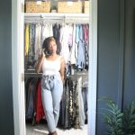 Small Master Walk In Closet Reveal Live Pretty On A Penny