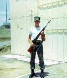 Eskin Kuhn, U. S. Marine at Gitmo, Cuba