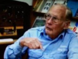 World War II veteran Duane Hodgkinson is interviewed by Garth Guessman