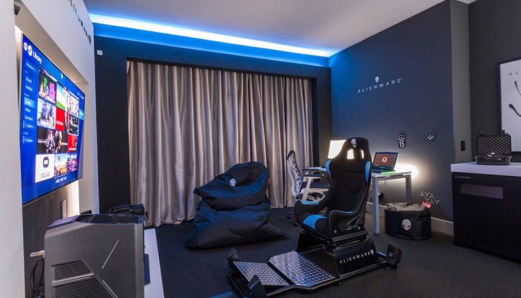 alienware room fotos