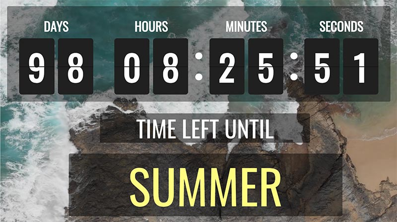Countdown Facebook Clock Free