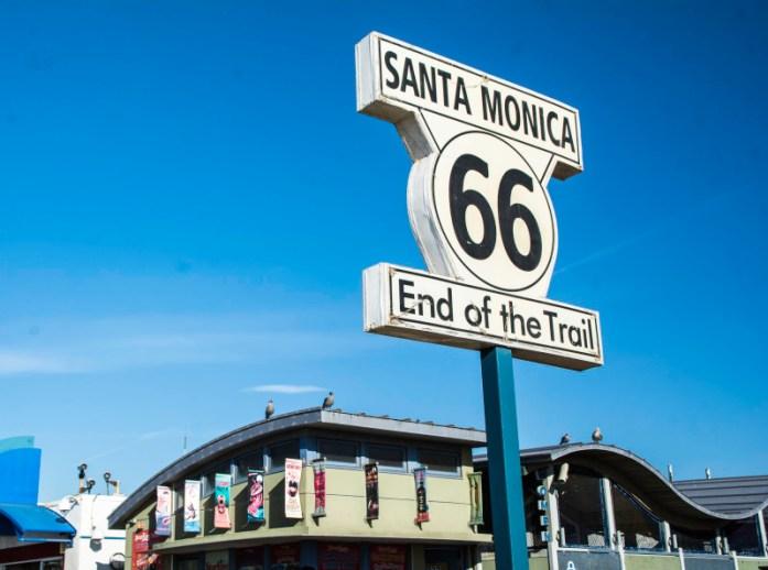 Santa Monica End of Route 66