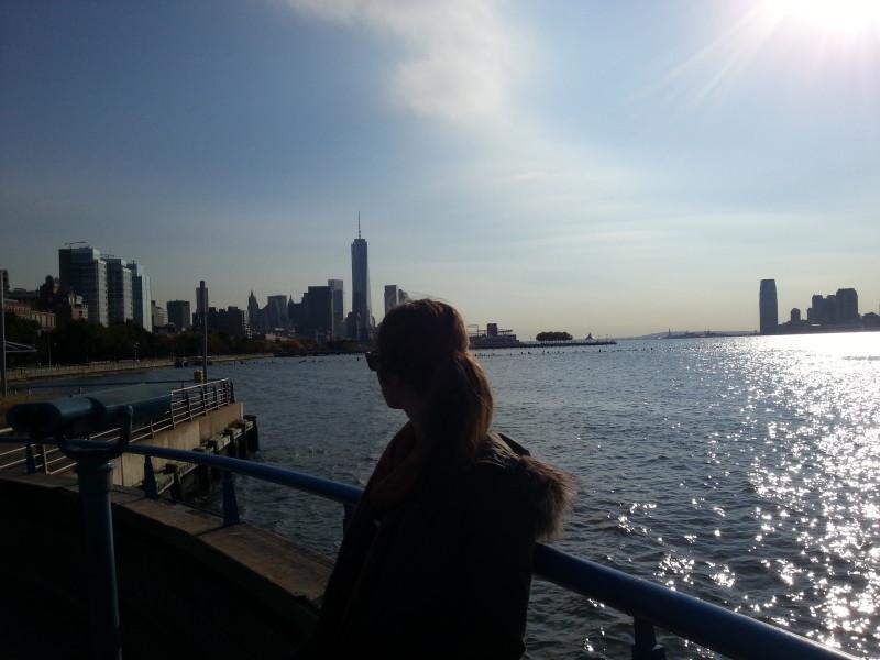 Hudson River views NYC