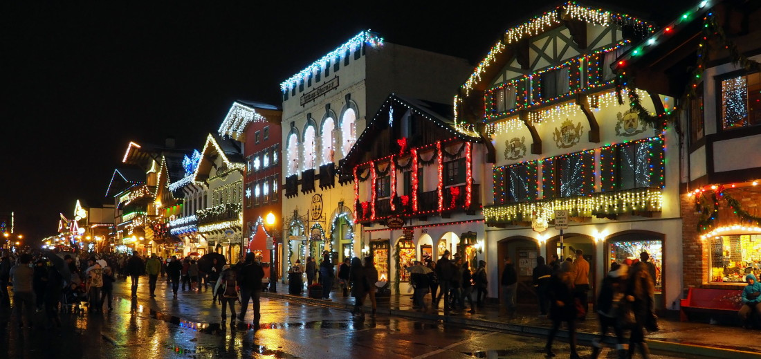 Leavenworth Christmas Lights.Leavenworth Christmas Lighting Festival Washington Live
