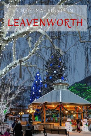 The Leavenworth Christmas Lighting Festival is the perfect December weekend destination. Enjoy spectacular lights and ambiance in Washington's cutest town.