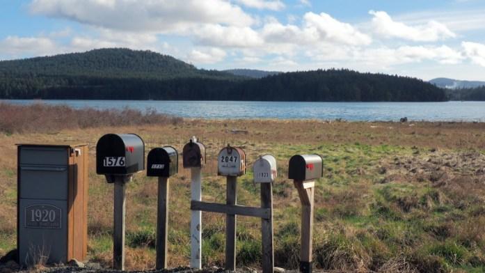 Postboxes on San Juan Island - LiveRecklessly