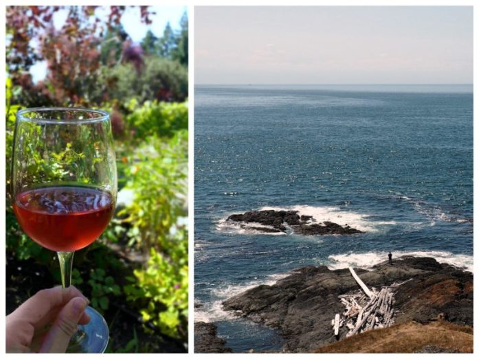 Expat Escapades July 2016 - LiveRecklessly.com - Lopez Island - views and wine