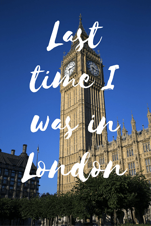 Last time I was in London: a reminiscent tale of a younger self exploring the history, culture and food of London, United Kingdom. Read more at www.liverecklessly.com